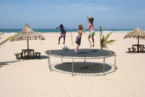 Jak zmierzyć sprężynę do trampoliny?